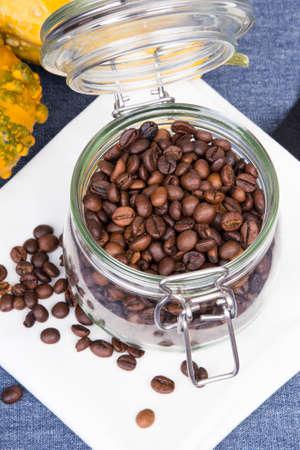 recipient: coffee beans in a jar