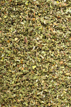 phytotherapy: Cistus incanus - dried herb background Stock Photo