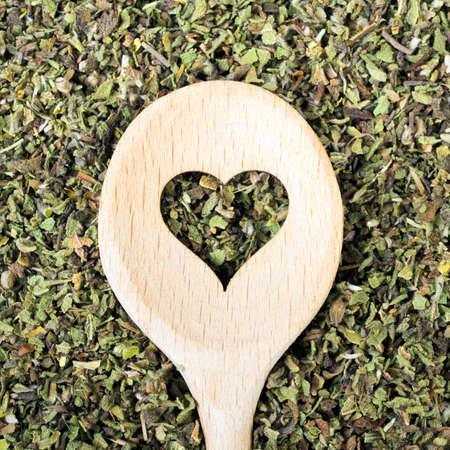 Cistus incanus - dried herb Stock Photo