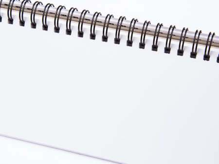 workbook: white workbook background
