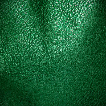 green artificial leather texture  for background