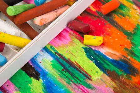 oil pastels: oil pastels box
