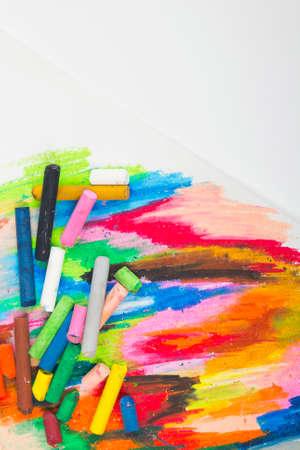 oil pastels: oil pastels drawing