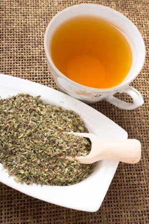 bactericidal: Cistus incanus tea and dried herb