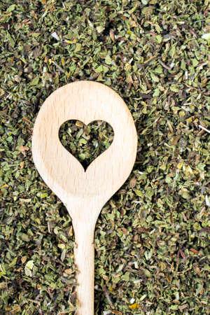 radical love: Cistus incanus - dried herb Stock Photo