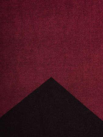 cloth fiber: closeup of a colorful stripes fabric