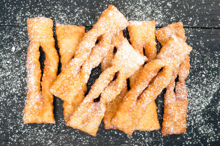 thursday: Faworki - Traditional Polish cookies served at Fat Thursday