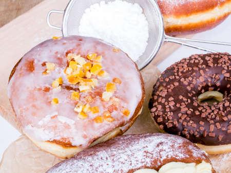 tasty donuts Stock Photo