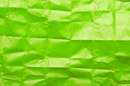 green tissue paper texture for background Stock Photo