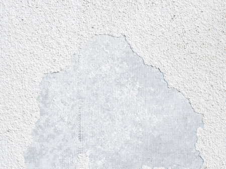 fissure: white cracked wall texture for background