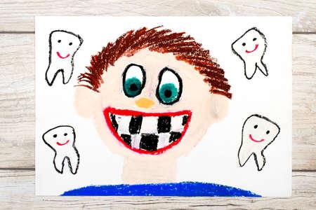 Dental Crayón Dibujo - Hada De Los Dientes Fotos, Retratos, Imágenes ...