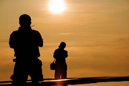 rancheros: En el momento del amanecer