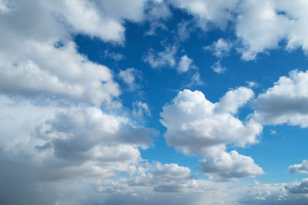 Sky clouds spring background