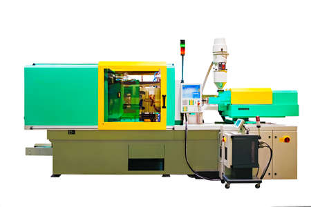 Machine for manufacture of products from plastic extrusion 写真素材