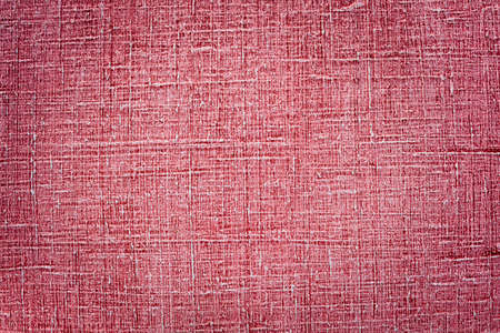 Red linen texture background