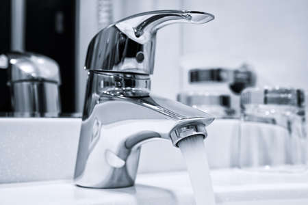 Water Flowing From The Tap
