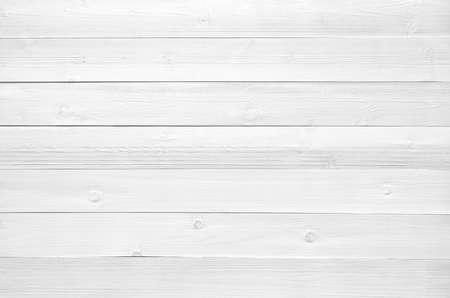 Fond de texture de planche de bois blanc.