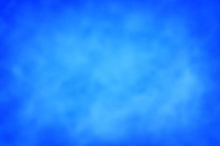 Blue watercolor paint abstract texture scanned blurred background web banner Banco de Imagens