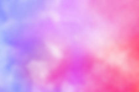 Abstract pink blue red yellow violet orange purple watercolor background. The color splashing Blurred web banner