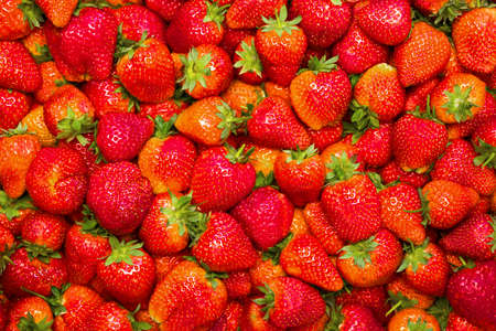 Strawberries background. Strawberry. Food background.