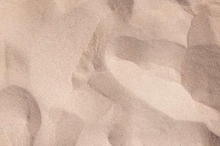 Golden desert sand texture as background