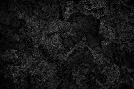 Dark gray black stone slate background or texture. 免版税图像
