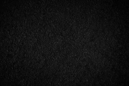 Black wall texture rough background dark concrete floor or old grunge background with black Stock fotó
