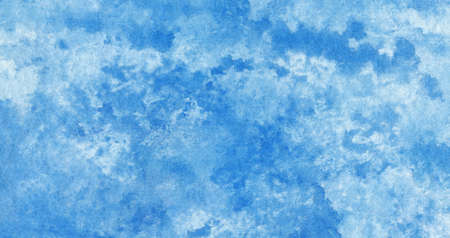Blue azure turquoise abstract watercolor background for textures backgrounds and web banners design Stock fotó