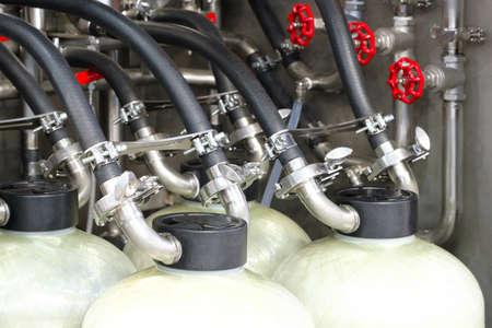 Cylinder gas reducers with pressure gauge. Pressure gauge and gas cylinder
