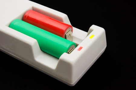 Multifunctional cylindrical batteries charger