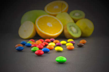 fruity: Fruity candies