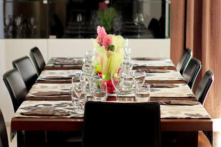Elegant table setting photo
