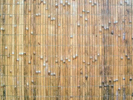 Natural vertical narrow slats for background or texture photo