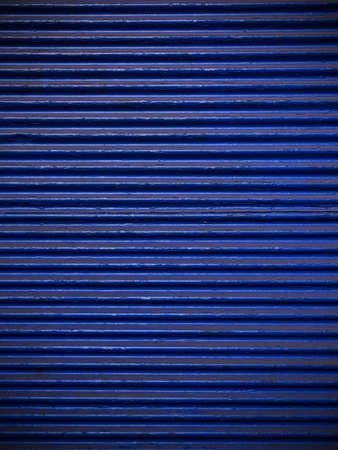 azul marino: Azul marino chapa ondulada para el fondo Foto de archivo