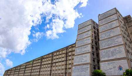 monumental: Monumental Christopher Columbus lighthouse in Santo Domingo, Dominican Republic Editorial