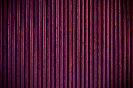 Purple corrugated sheet metal for background photo