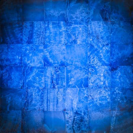 azul marino: Azul marino mosaico de piedra para el fondo o la textura Foto de archivo