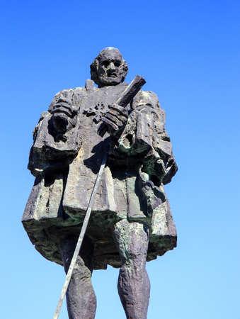 domingo: Frey Nicolas de Ovando monument in Santo Domingo, Dominican Republic Editorial