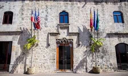 Architecture of Zona Colonial in Santo Domingo, Dominican Republic