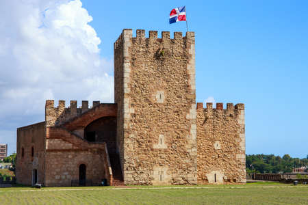 domingo: Fortaleza Ozama fortress in Santo Domingo, Dominican Republic