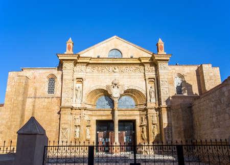 Old cathedral in Santo Domingo, Dominican Republic
