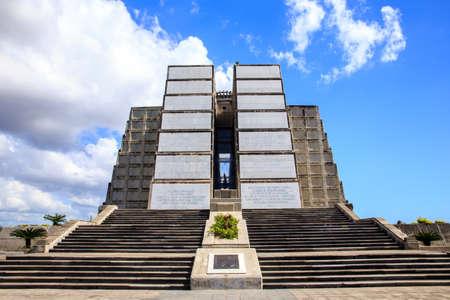 monumental: Monumental Christopher Columbus lighthouse in Santo Domingo Dominican Republic