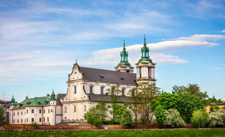 michael the archangel: Antique St. Michael the Archangel church in Cracow Krakow, Poland