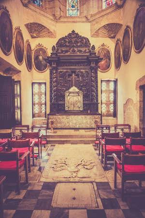 domingo: Interior of Santo Domingo cathedral, Dominican Republic