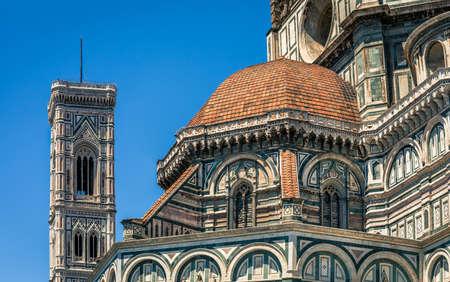 santa maria del fiore: Famous Santa Maria del Fiore cathedral in Florence, Italy