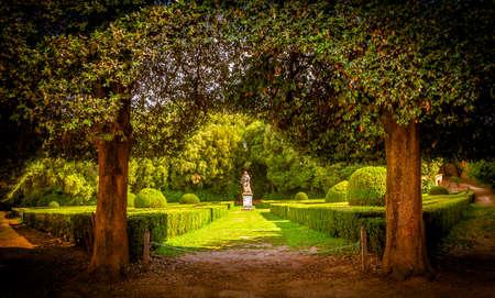 san quirico: The Leonini Gardens in San Quirico dOrcia, Tuscany