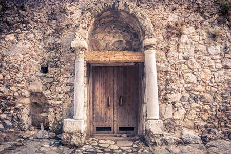 pili: Palio Pili ruins at Kos island, Greece