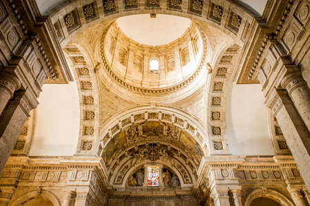 montepulciano: Interior of Madonna di San Biagio church in Montepulciano, Italy Editorial