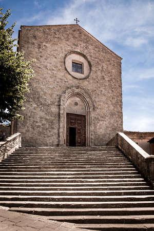 francesco: San Francesco church in Cortona city, Italy