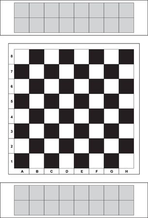chess board: chess board Illustration